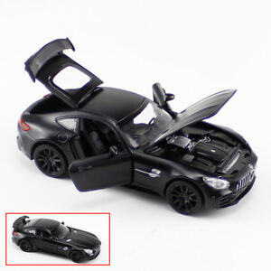 1:32 Mercedes-Benz AMG GTR Diecast Model Toy Car Collection Sound&Light Kid Gift