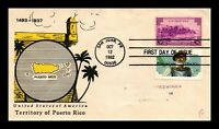 DR JIM STAMPS US PONCE DE LEON PUERTO RICO COMBO FIRST DAY CACHET COVER