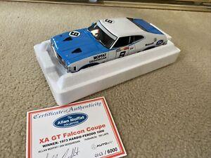 1:18 Biante Ford XA GT Falcon Coupe #9 Moffat / Geoghegan 1973 Bathurst winner