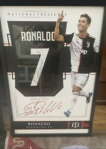 Cristiano Ronaldo Autographed Hand Signed Custom Framed Real Madrid Jersey - BAS