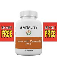 Buy 2 get 1 FREE - Lutein 40 mg with Zeaxanthin Support Eye Health