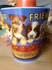 Puppies Coffee Mug Sakura Oneida Vintage Tabel Trendz Dogs Tomato Four Friends