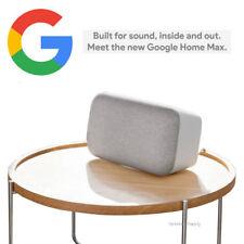 Google Home Max Chalk White Multiroom Wifi Smart Speaker WNGOGA222US