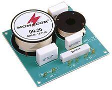 Monacor fréquence doux dn-20 2 voies douces pour 8 ω 270120