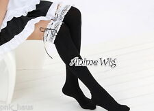 Lolita Damen Lady Strümpfe Stockings Leggins Kostüm Socken schwarz Strümpfe