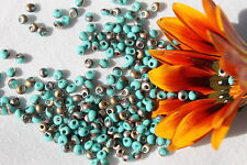 3mm Magatama Toho Seed Beads 5-Frosted Turquoise Apollo /10 grams  # Y857F