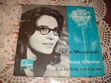 """NANA MOUSKOURI """"ROSA D'ATENE"""" COVER DIFFERENTE ITALY'65"""