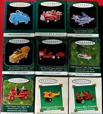 Hallmark Keepsake Ornament Miniatures Kiddie Car Classic First Nine