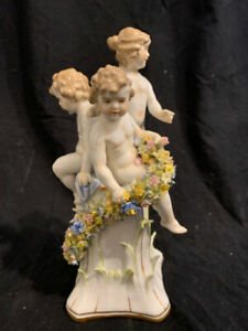 Rococo Style Porcelain Figural Group