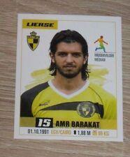 "Image Sticker #454 PANINI ""Amr BARAKAT"" (KSK Lierse) Proximus League 2017"