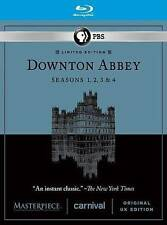NEW SEALED - Masterpiece: Downton Abbey Seasons 1, 2, 3, & 4 [Blu-ray]