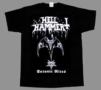 HELLHAMMER - Satanic Rites - Shirt - Metal Thrash Kreator Venom