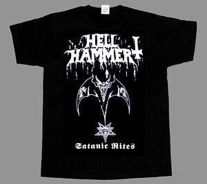 HELLHAMMER - Satanic Rites - Shirt - Metal Thrash Celtic Frost