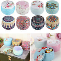 Rose Pot Tin Box Mini Candy Box Drum-shaped Candy Box Wedding/Party Supply