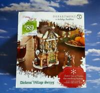 DEPT 56 Dickens Village THE SMOKING BISHOP(Set of 2) HOLIDAY GIFT SET!