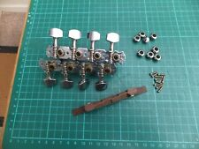 DIY mandolin parts kit, tuners & bridge, cigar box? 4 string guitar? projects