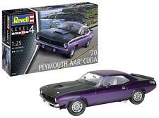 1970 Plymouth Aar Cuda Model Set 1:25 Plastic Model Kit REVELL