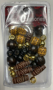 Hair Accessories: Wooden Beads For Hair