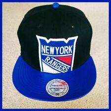 NEW YORK RANGERS NHL HOCKEY SNAPBACK HAT.