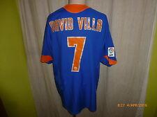 "Valencia C.F. Nike Auswärts Trikot 2005/06 ""TOYOTA"" + Nr.7 David Villa Gr.XL"