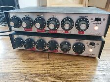 Vintage Bogen 4-Channel Solid State Audio Mixer Preamp - Lot of 2