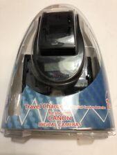 Quantaray Travel Charger-Canon Digital Camera Batteries NB-1L,2L,4L,5L, & BP-511