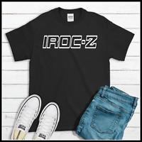 Iroc Camaro T Shirt Racing Men's Sizes Z28