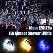 120 LED Flashing Meteor Shower Lights Falling Rain Drop Icicle Christmas Decor