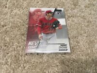 2018 Topps Stadium Club Shohei Ohtani Never Compromise Rookie Card RC Angels