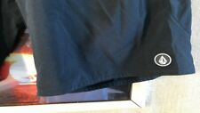 Volcom women's board short solid black stretch size W32