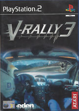 V-RALLY 3 for Playstation 2 PS2 - manual in English