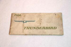 1972 FORD THUNDERBIRD OWNERS GUIDE MANUAL ORIGINAL OEM Car Manuals ...
