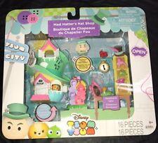 New Disney Tsum Tsum City Mad Hatter's Hat Shop Alice Wonderland Lady Pascal