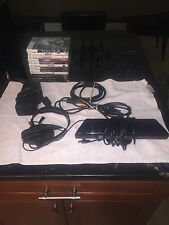Microsoft Xbox 360 S with Kinect 250GB Glossy Black Console + TONS OF EXTRAS
