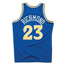 c1e930622a7 Mitch Richmond 1990-91 Golden State Warriors Mitchell   Ness Swingman Jersey