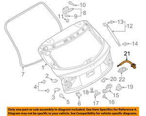 MAZDA OEM 2014 3 Rear View-Backup Back Up Camera BHN967RC0A