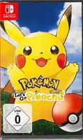 Pokémon: Let´s Go, Pikachu! - Nintendo Switch - NEU & OVP - Deutsche USK Version
