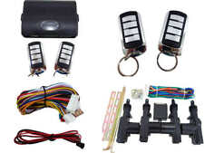 High Quality Car Alarm Remote & Full Set Central Locking Kit 4 Doors 4