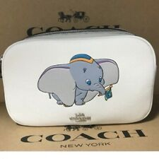 Disney Coach Dumbo shoulder bag Cross body camera bag white