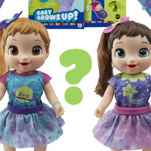 """🔥 Baby Alive """"Baby Grows Up"""" Happy Hope or Merry Meadows Growing Doll NEW 🔥"""