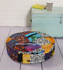 Round Chair Pad Cushion Thicker Soft Washable Seat Floor Mat Home Decor Indian