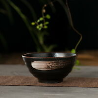Temmoku Nero Ciotola Matcha * Teabowl 220ml Ceramica