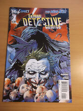 DC: NEW 52 DETECTIVE COMICS #1, COOL JOKER'S COVER, 1ST PRINT, 2011, NM (9.4)!!!