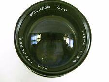 Soligor C/D 135mm 2.8 lens Pentax screw mount M42 mount clean