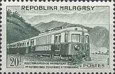 Timbre Trains Madagascar 360 ** lot 15350