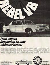 1968 Advertising - Rambler Rebel  V8 American Motors Corp. - from 1968 Magazine