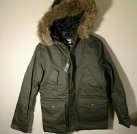 Men's Cotton Winter Military Jacket Goodfellow & Co Olive