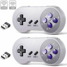 2Pack Wireless Super SNES Controller Gamepad for Windows PC MAC Raspberry Pi 3