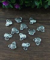 Wholesale 20pcs Tibet silver Pumpkin Charm Pendant beaded Jewelry Findings  !!!!