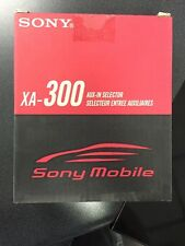 XA-300 Sony® Bus Auxiliary Input Adapter